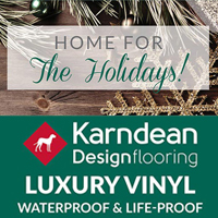 Home For The Holidays! - Karndean Luxury Vinyl Flooring On Sale - Waterproof & Life-proof