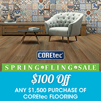Spring Fling CORETec Sale - $100 off $1500