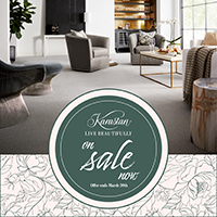 Karastan - Live Beautifully - Save up to $500  on select Karastan carpet - March 2 - 30