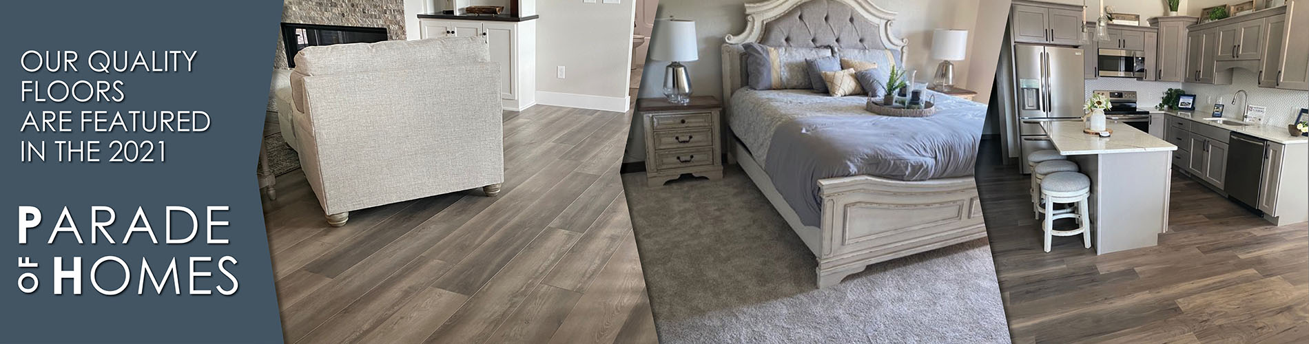 Our quality floors are featured in the 2021 Parade of Homes