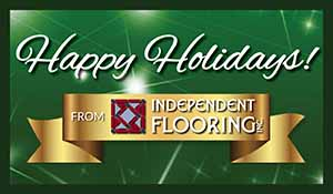 Happy Holidays from Independent Flooring
