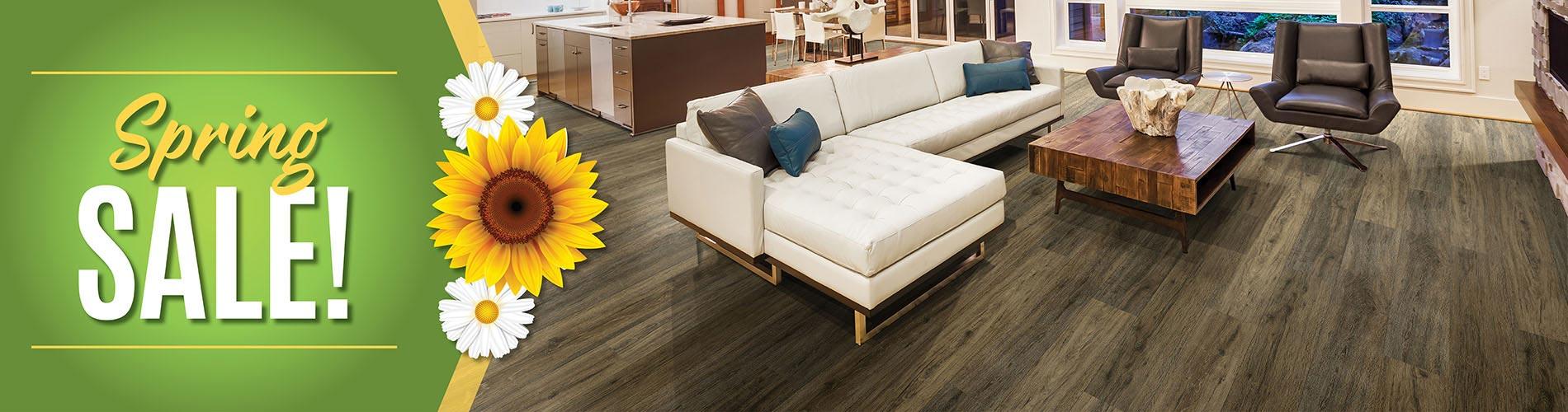 Spring Sale at Independent Flooring