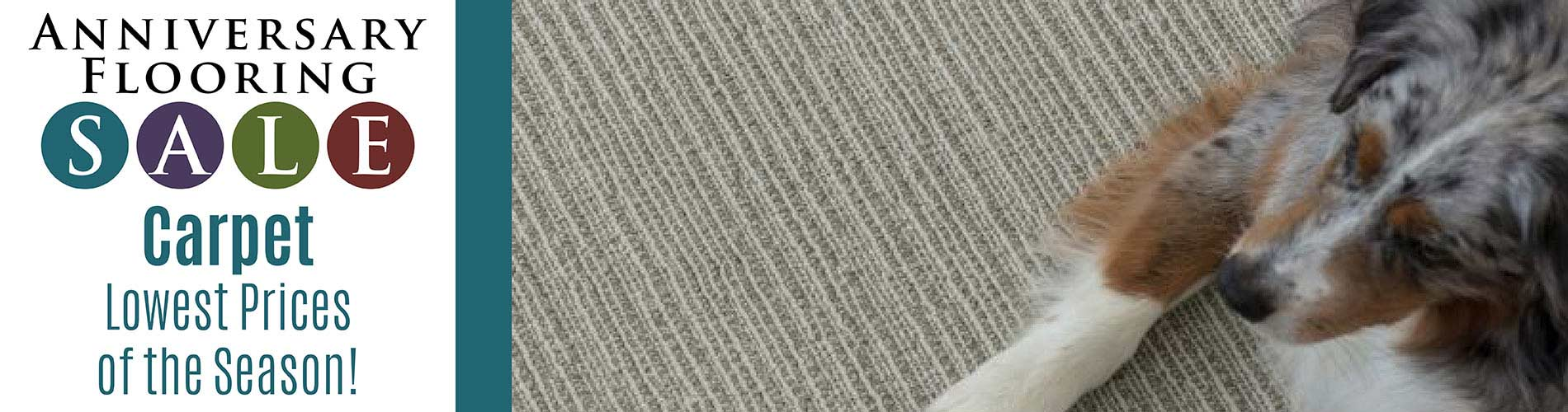Lowest prices of the season on Carpet at Independent Flooring in Eau Claire.