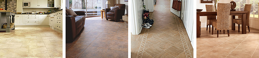 Karndean stone-look floors are beautifully realistic and highly practical.